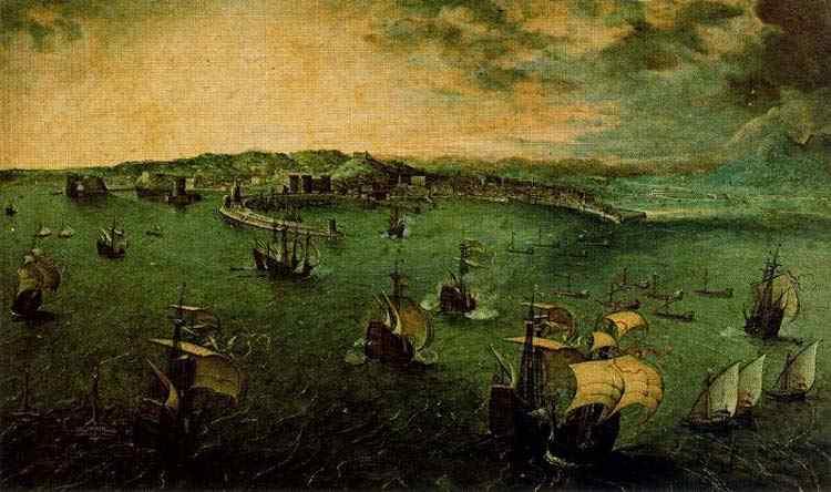 Pieter Brueghel - Vista de Nápoles