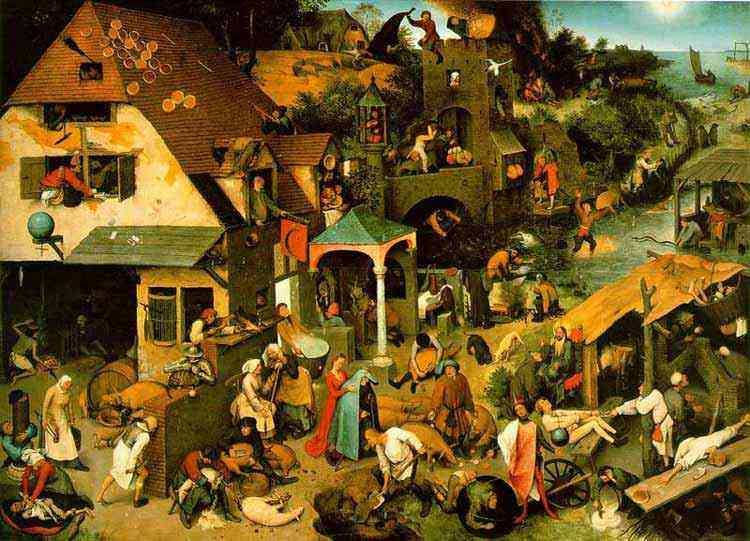 Pieter Brueghel - Provérbios da Holanda