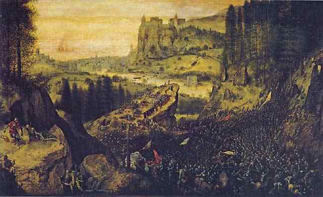 Pieter Brueghel - O suicídio de Saul