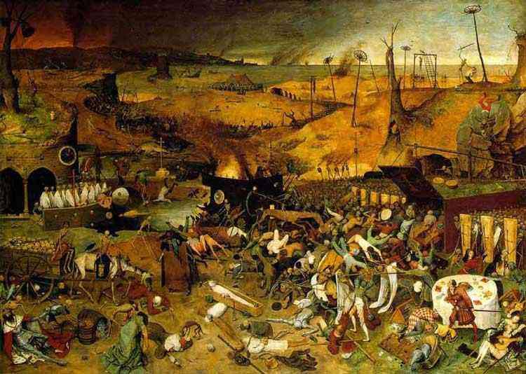 Pieter Brueghel - O triunfo da morte