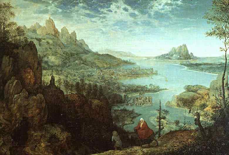 Pieter Brueghel - Paisagem com a ida ao Egito