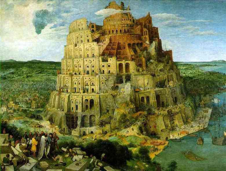 Pieter Brueghel - A torre de babel