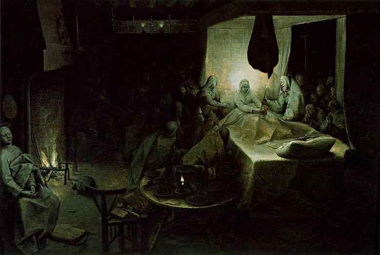 Pieter Brueghel - A morte da Virgem Maria