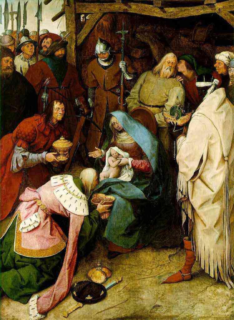 Pieter Brueghel - A adoração dos reis