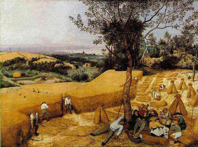 Pieter Brueghel - A colheita do trigo