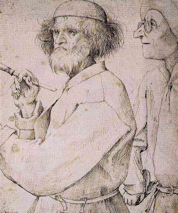 Pieter Brueghel - O pintor e o comprador