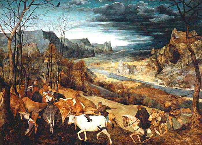 Pieter Brueghel - O retorno do rebanho