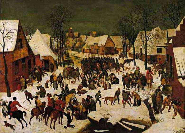 Pieter Brueghel - O massacre dos inocentes