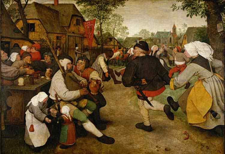 Pieter Brueghel - A dança camponesa