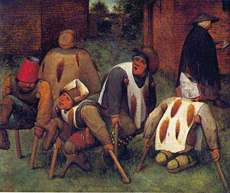 Pieter Brueghel - Aleijados