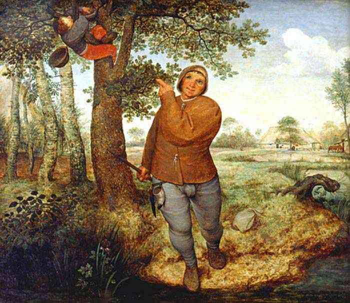 Pieter Brueghel - O camponês e o ladrão de ninho