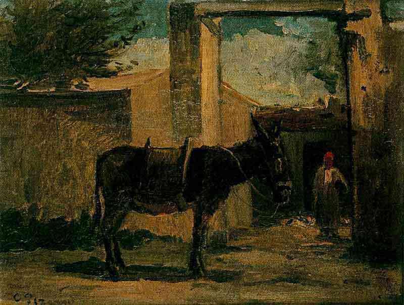 Camille Pissarro - Paisagem de Montmorency