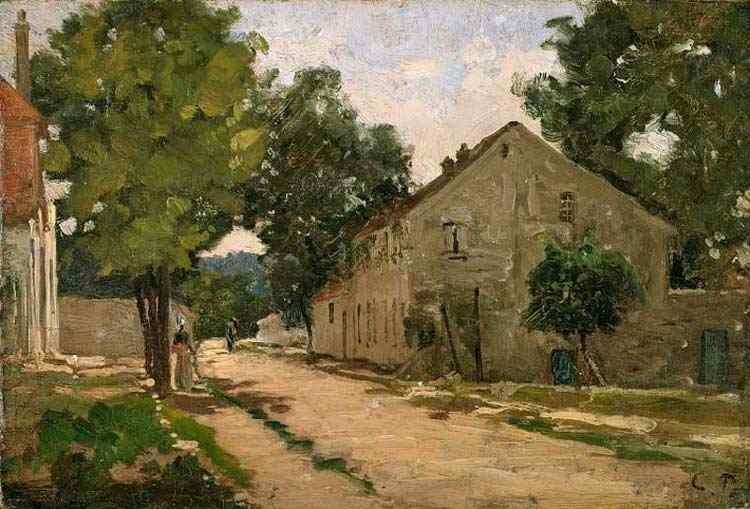 Camille Pissarro - Estrada para Port-Marly