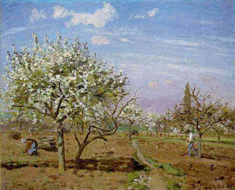 Camille Pissarro - O pomar
