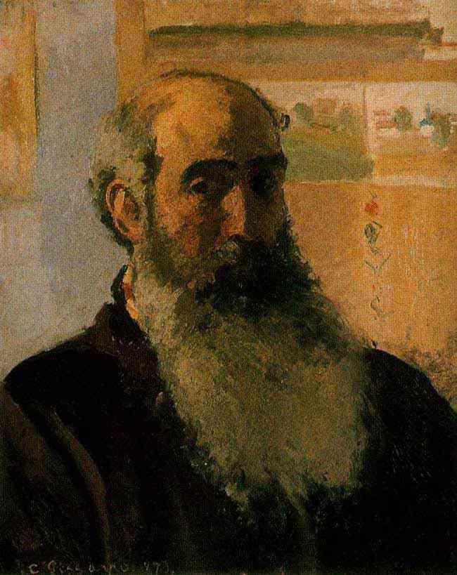 Camille Pissarro - Auto-retrato