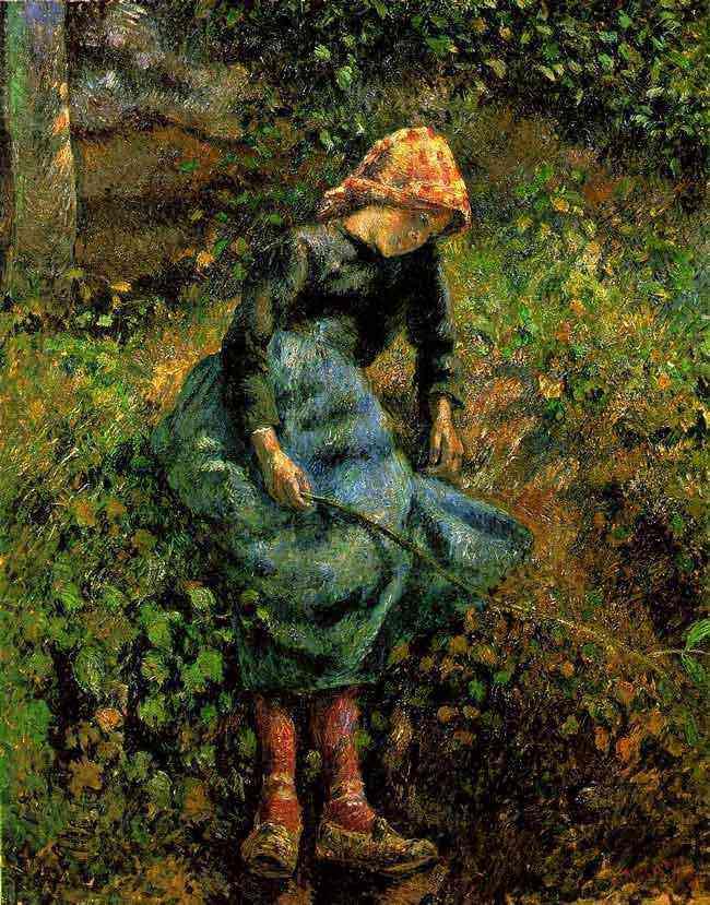 Camille Pissarro - A pastora