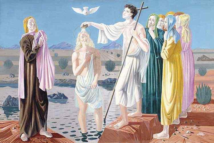 Cândido Portinari - O batismo de Jesus