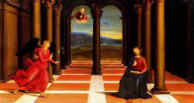 Raffaelo Sanzio Raphael - Anunciação