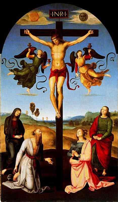 Raffaelo Sanzio Raphael - Crucificação Gavari