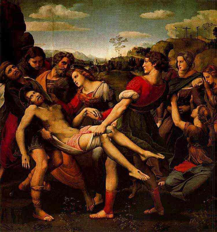 Raffaelo Sanzio Raphael - Translado de Cristo morto