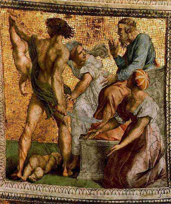 Raffaelo Sanzio Raphael - O julgamento de Salomão