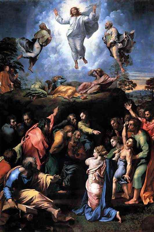 Raffaelo Sanzio Raphael - A transfiguração