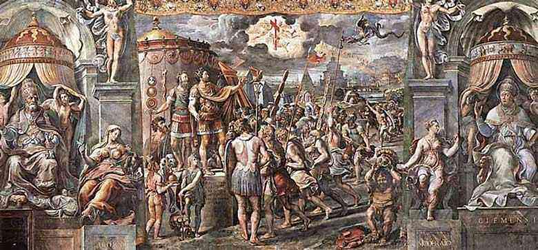 Raffaelo Sanzio Raphael - Visão da cruz