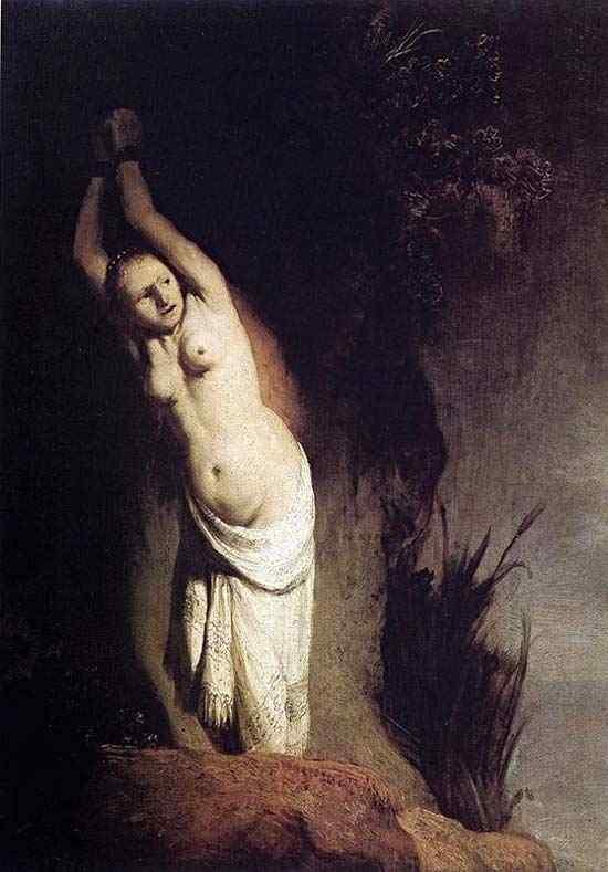 Harmensz van Rijn Rembrandt - Andrômeda