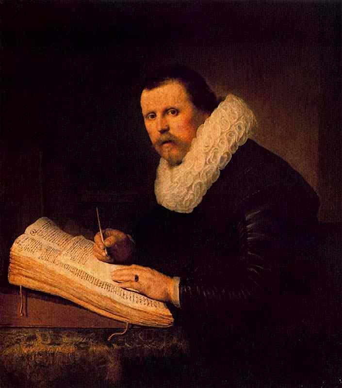 Harmensz van Rijn Rembrandt - Um estudante