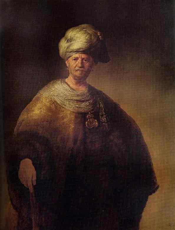 Harmensz van Rijn Rembrandt - O nobre eslavo