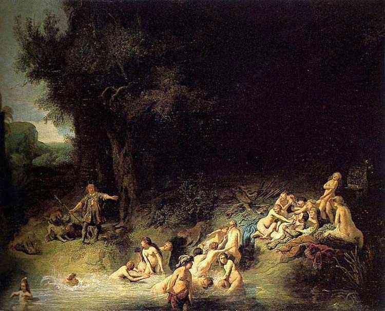 Harmensz van Rijn Rembrandt - Histórias de Diana