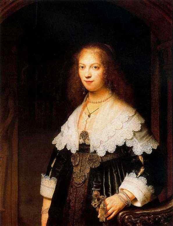 Harmensz van Rijn Rembrandt - Maria Trip