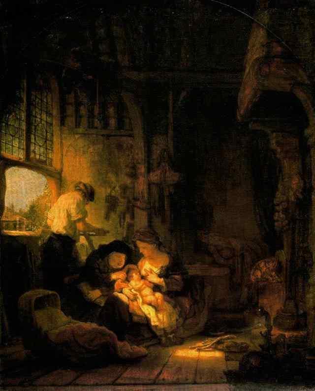 Harmensz van Rijn Rembrandt - A Sagrada Família