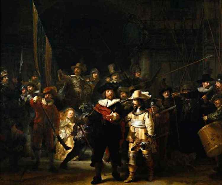 Harmensz van Rijn Rembrandt - A ronda da noite