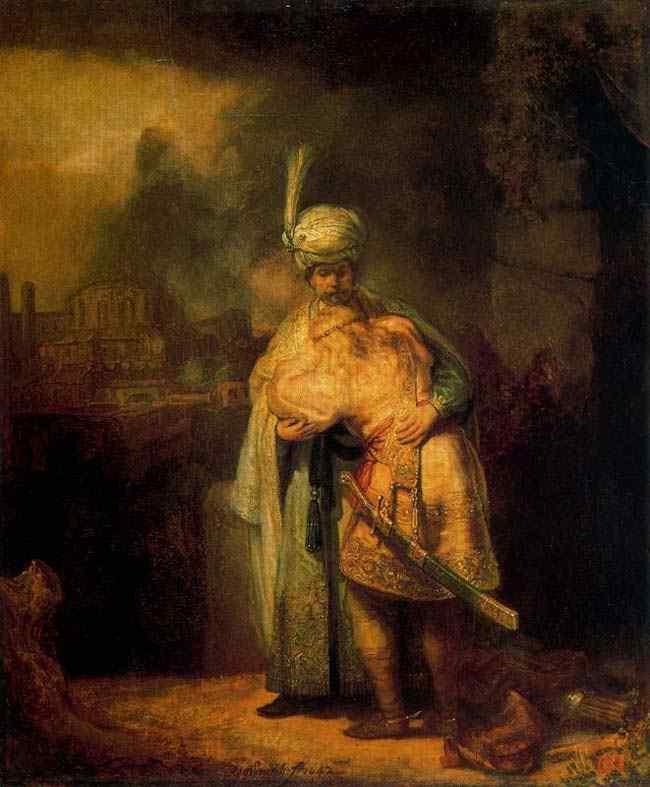 Harmensz van Rijn Rembrandt - Davi e Jonas