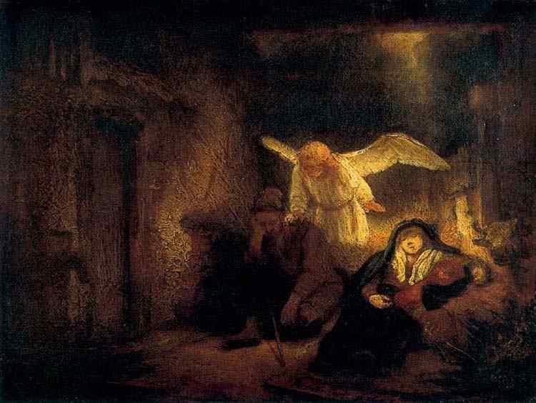 Harmensz van Rijn Rembrandt - O sonho de José