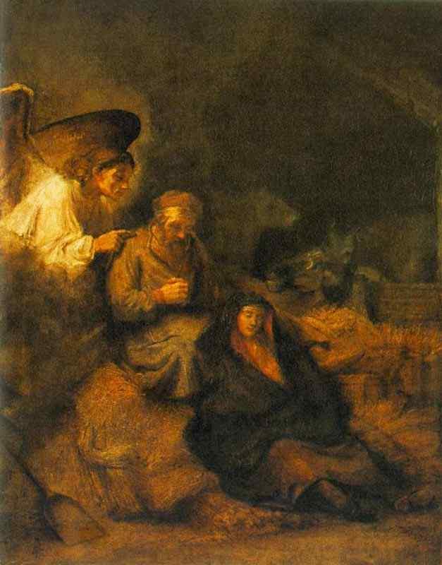 Harmensz van Rijn Rembrandt - O sonho de São José