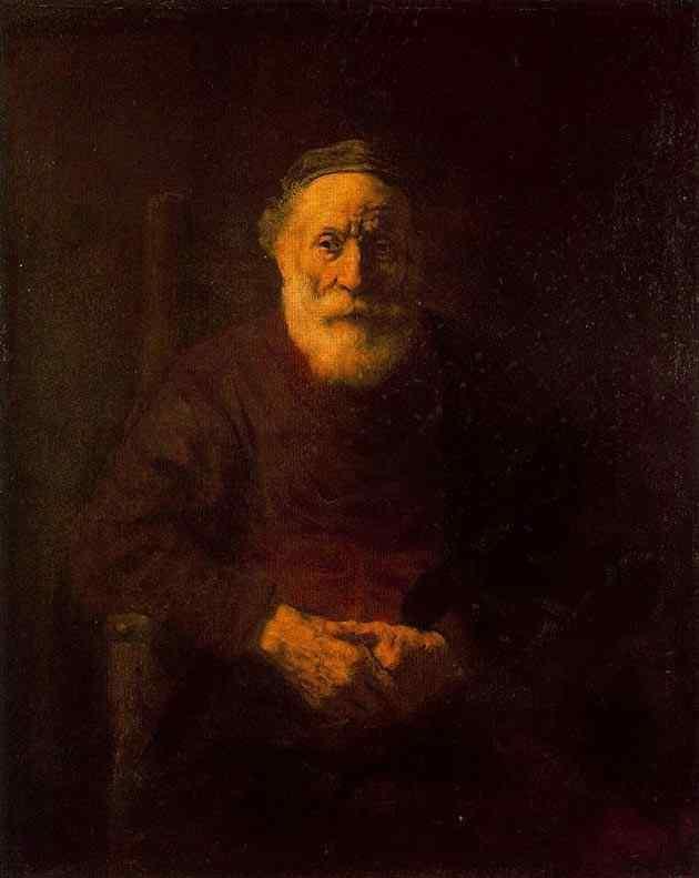 Harmensz van Rijn Rembrandt - Retrato de um judeu