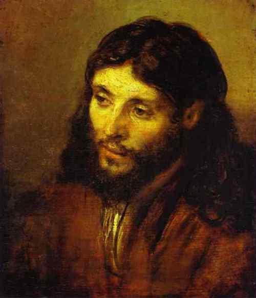 Harmensz van Rijn Rembrandt - A cabeça de Cristo
