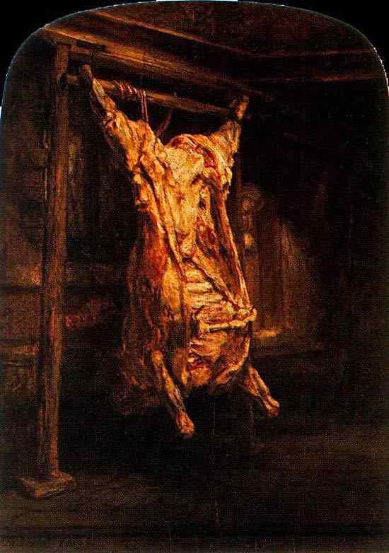 Harmensz van Rijn Rembrandt - O boi abatido