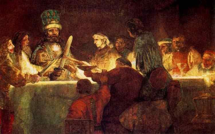 Harmensz van Rijn Rembrandt - A Conjuração dos batavos