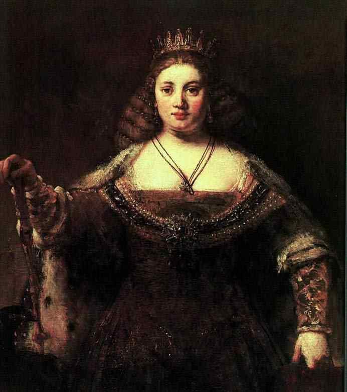 Harmensz van Rijn Rembrandt - Juno
