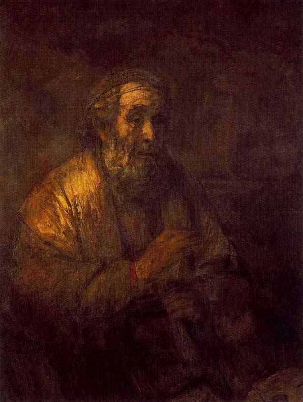 Harmensz van Rijn Rembrandt - Homero