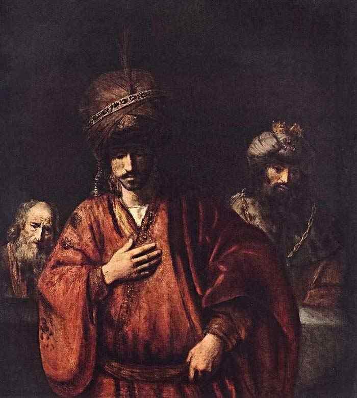 Harmensz van Rijn Rembrandt - Davi e Urias
