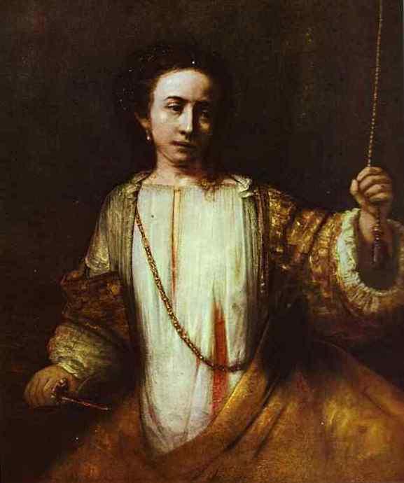 Harmensz van Rijn Rembrandt - Lucrécia