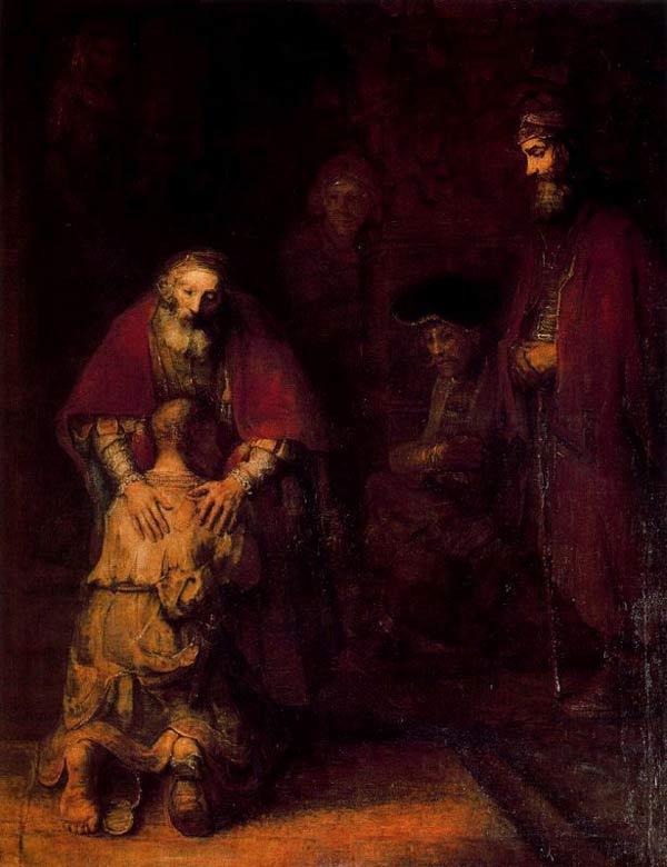 Harmensz van Rijn Rembrandt - O regresso do filho pródigo