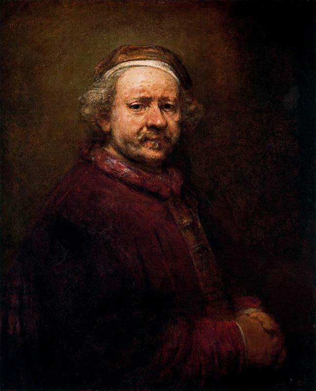 Harmensz van Rijn Rembrandt - Auto-retrato