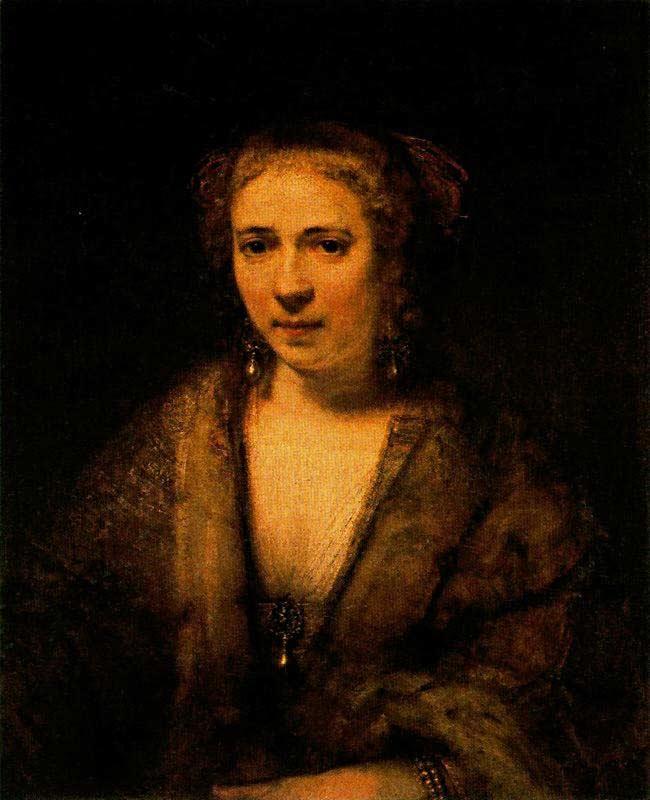 Harmensz van Rijn Rembrandt - Hendrickje Stoffels