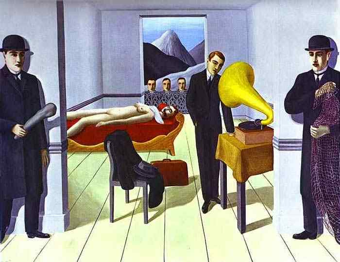 René Magritte - O Assassino ameaçado