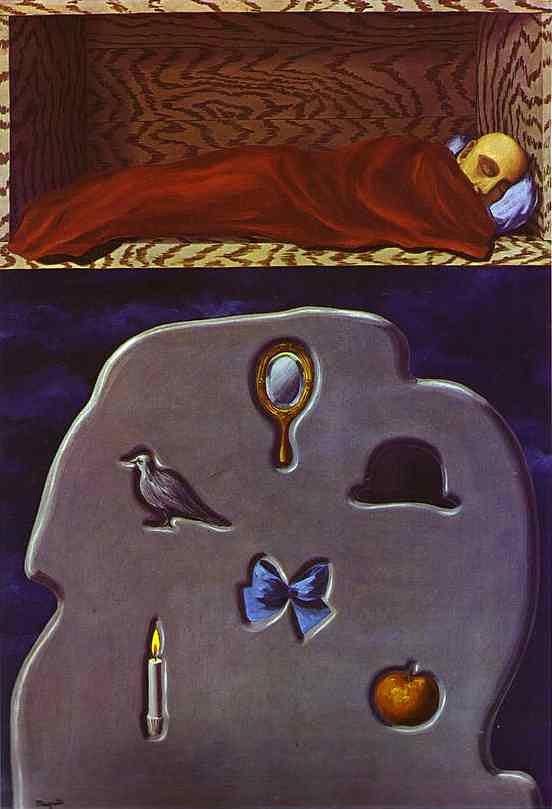 René Magritte - O dorminhoco imprudente